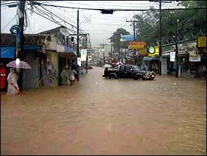 Patong flood