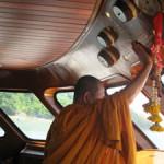 Hallelujah liveaboard monk blessing