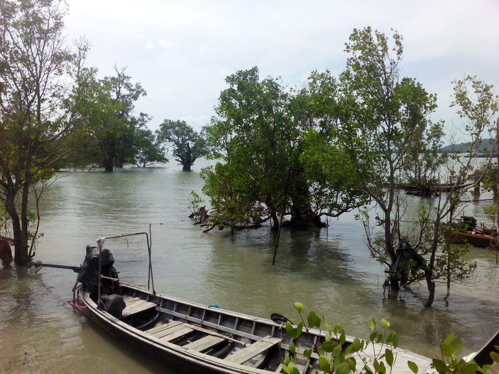 koh yao noi longtail boat