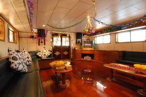 Deep Andaman liveaboard saloon