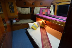 Andaman Tritan cabin