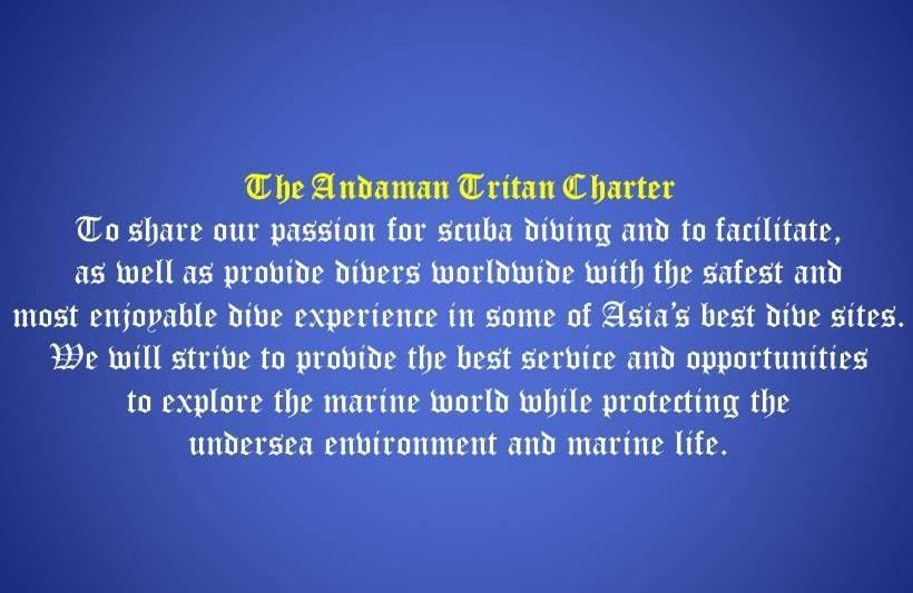 Andaman Tritan Charter