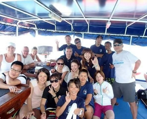Andaman Tritan guests