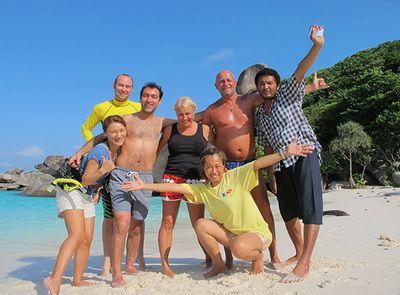 Daranee beach visit