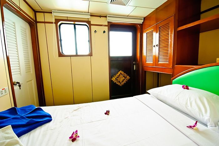 Deep Andaman Queen VIP double cabin window