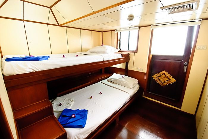Deep Andaman Queen VIP twin cabin