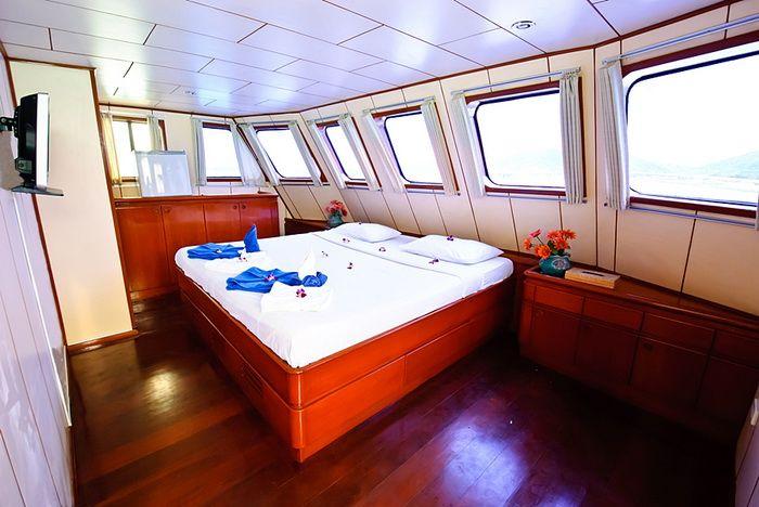 Deep Andaman Queen master cabin