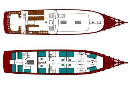 Diva Andaman boat plan