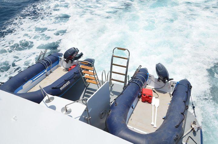 DiveRACE Class E tenders