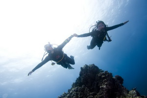 Lose weight scuba diving
