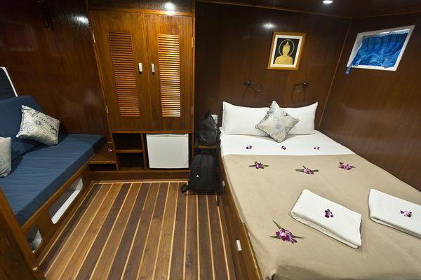 Giamani liveaboard master cabin