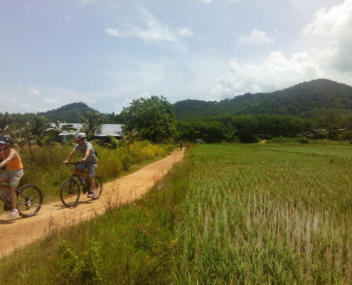 Mountain biking Phang Nga