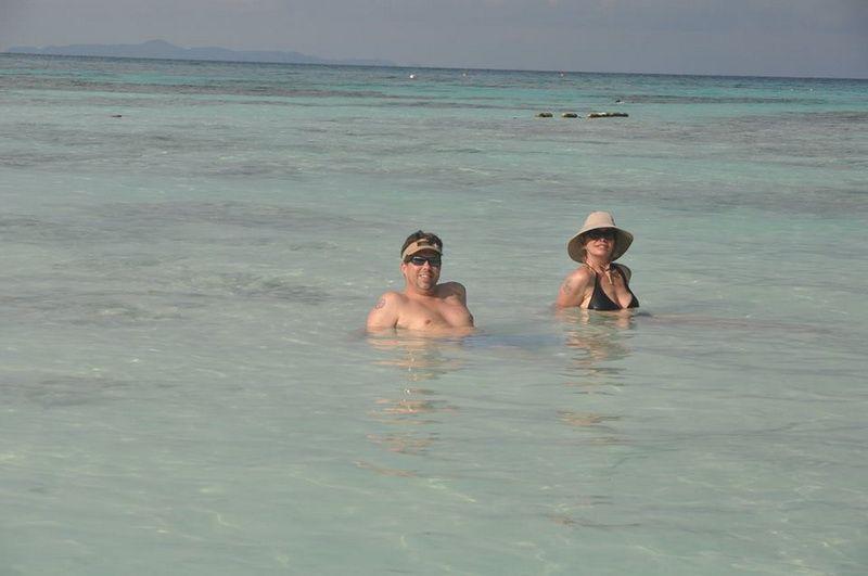 Pawara swimming