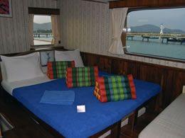 Scuba Explorer suite cabin