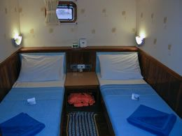 Scuba Explorer twin cabin