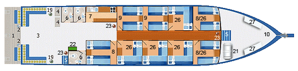 Similan Explorer main deck layout