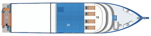 Similan Explorer top deck layout