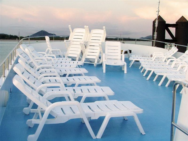 South Siam sun deck