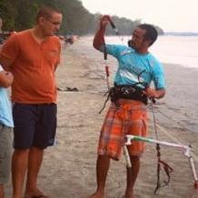 Trang Kite boarding