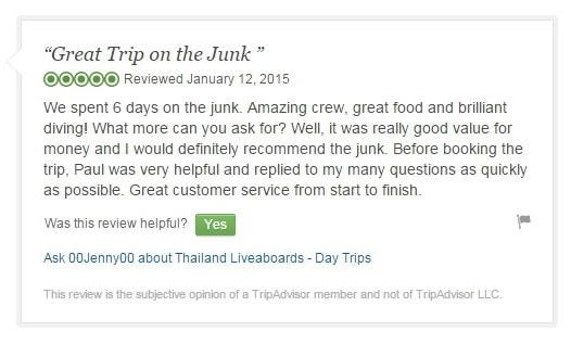 Tripadvisor Junk