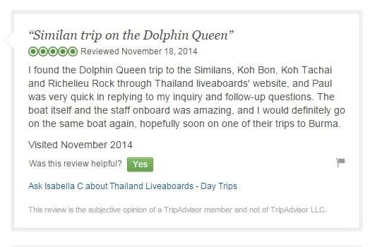 Tripadvisor Dolphin Queen