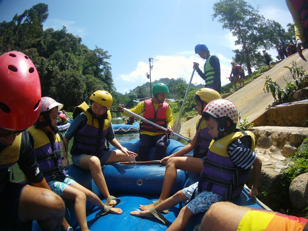 White water rafting Phang Nga