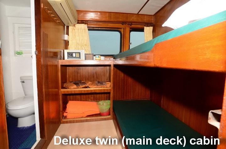 andaman tritan deluxe twin cabin