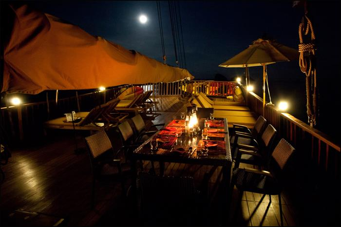 Diva Andaman moonlight dining