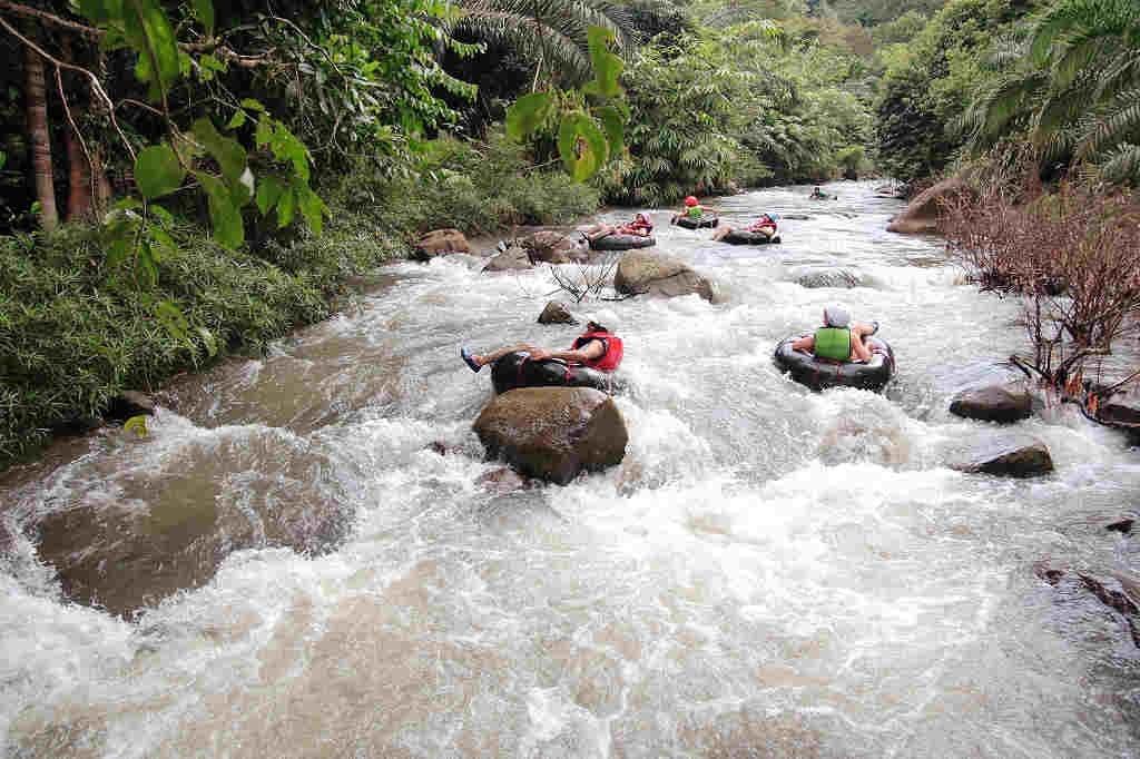 Tubing Kapong Phang Nga