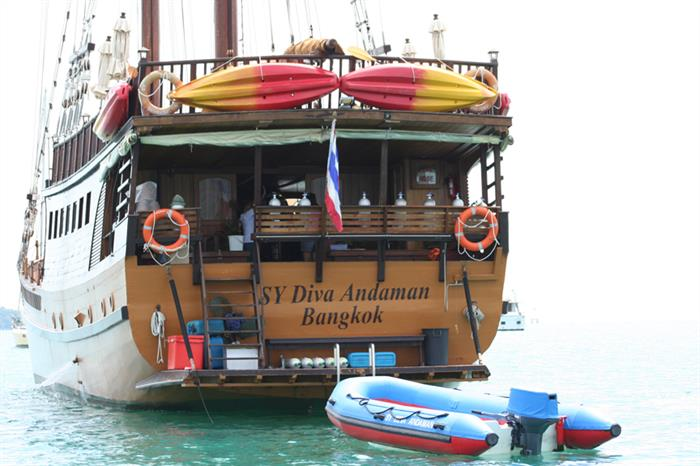 Diva Andaman stern