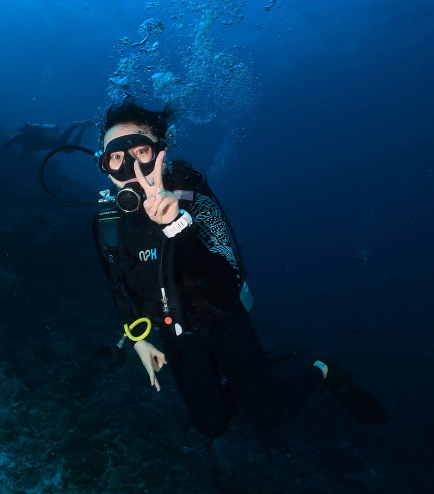 DiveRACE liveaboard diver