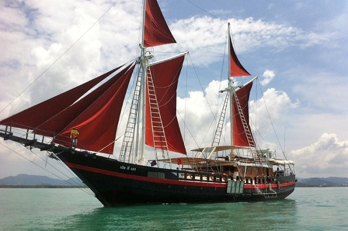 The Phinisi Thailand liveaboard