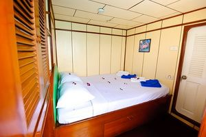 Deep Andaman liveaboard double cabin