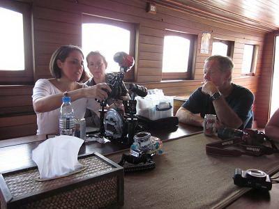 Diva Andaman camera table