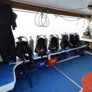 Andaman Tritan dive deck