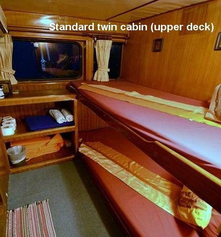 Andaman Tritan standard cabin