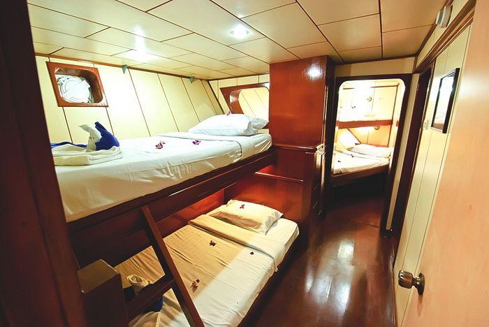 Deep Andaman Queen quad cabin