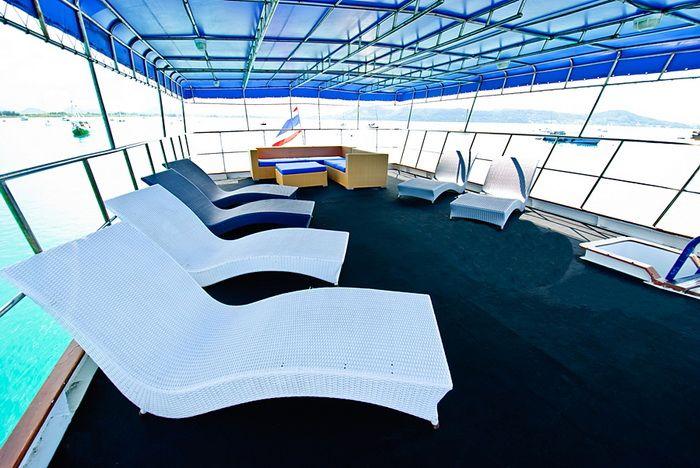 Deep Andaman Queen relax deck
