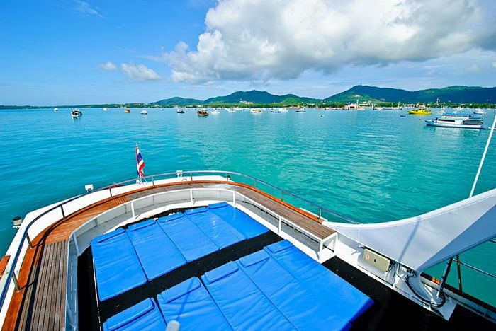 Deep Andaman Queen top sun deck