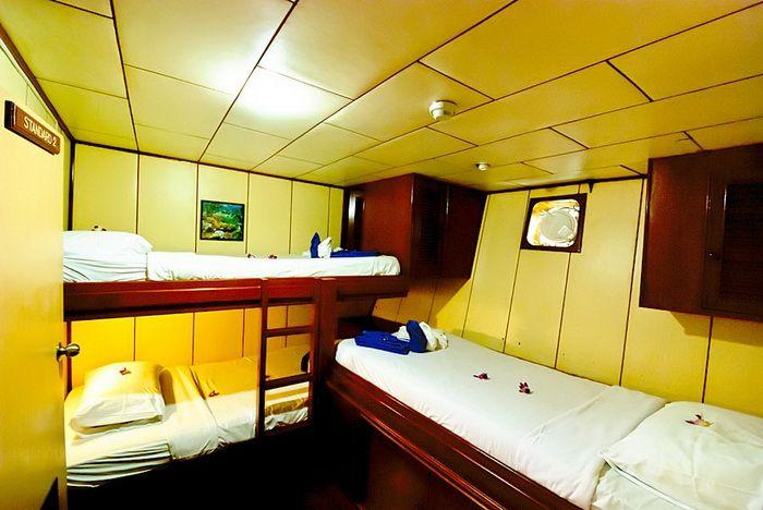 Deep Andaman Queen triple cabin