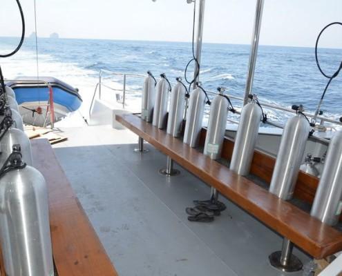 DiveRACE Class E dive deck