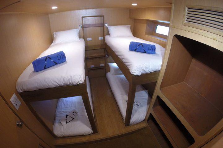 DiveRACE Class E twin cabin