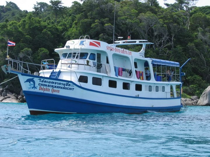 Dolphin Queen budget Similan liveaboard