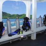Giamani liveaboard dive deck