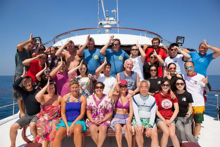 Hallelujah Similan Islands liveaboard guests