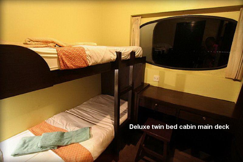 Pawara deluxe twin cabin