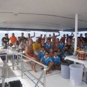 Pawara guests and crew