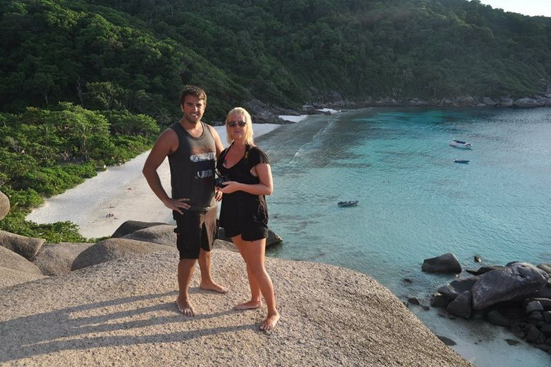 Pawara Similan Island excursion