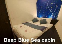 Peter Pan deep blue sea cabin