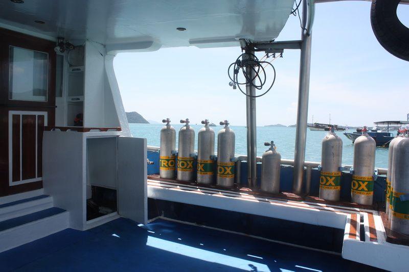 Scuba Adventure dive deck